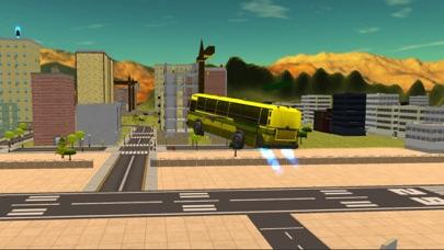 Flying Bus Driving Simulator - Racing Jet Bus Airborne Fever screenshot one
