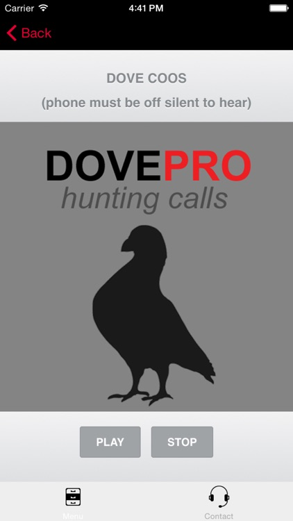REAL Dove Calls and Dove Sounds for Bird Hunting! - BLUETOOTH COMPATIBLE screenshot-0