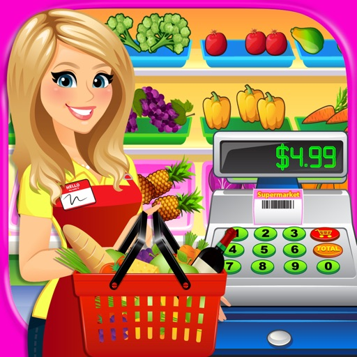 Supermarket Simulator 2 - Grocery Girl & Cash Register Shopping Store Games FREE
