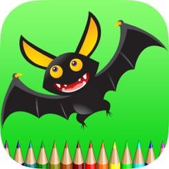 Bat Boyama Kitabı çocuklar Için ücretsiz Oyunlar Renklendirmek Ve