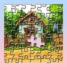 Jigsaw World Puzzle Colorful Game for Kids with Free