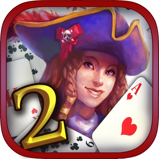 Pirate's Solitaire 2. Sea Wolves Free