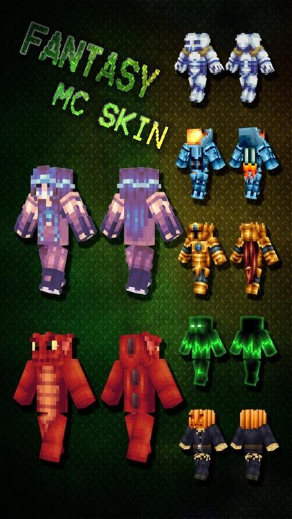 Best Fantasy Skins for MineCraft Pocket Edition