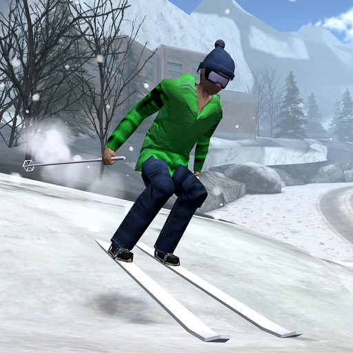 Cross Country Skiing - 3D Winter Mountain Championship Sport Racing Simulator Pro