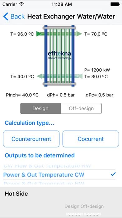 efitekna - thermodynamics app screenshot two