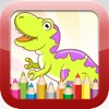 Dinosaur Coloring Book - Educational Coloring Games Free For kids and Toddlers