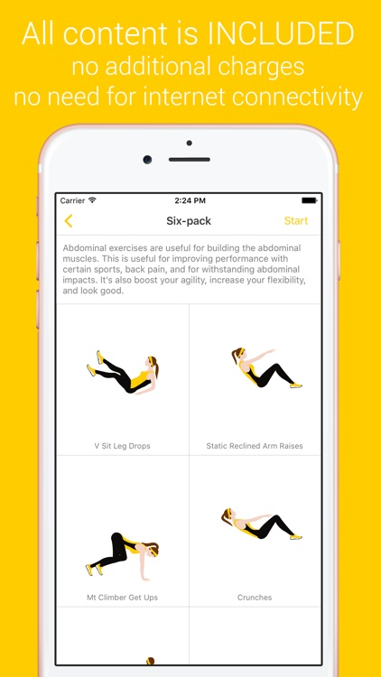 Six Pack Workout - Your Personal Fitness Trainer for a Quick Six Pack Muscle screenshot-0