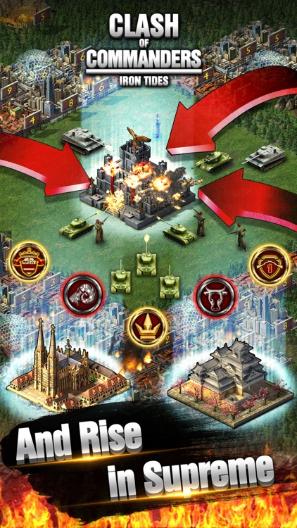 Clash Of Commanders - I.T. Best Strategy Game screenshot-4