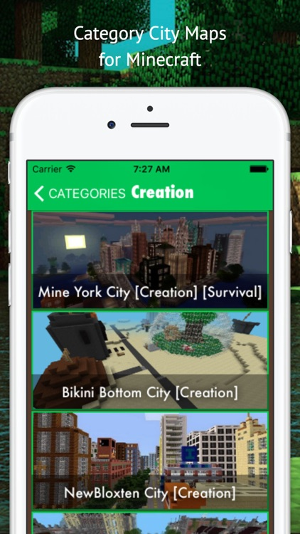 City Maps for Minecraft - Best Database Maps for minecraft Pocket Edition