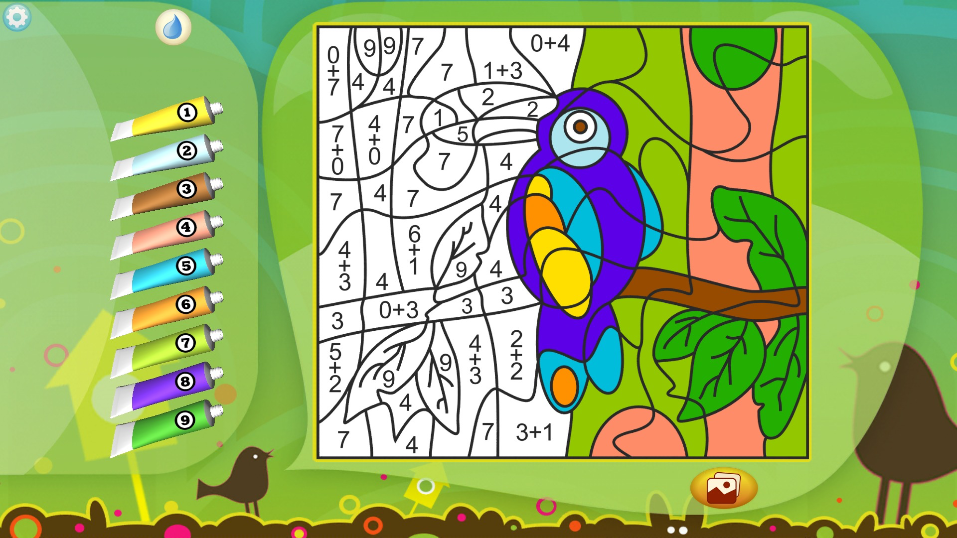 Color by Numbers - Animals screenshot 11