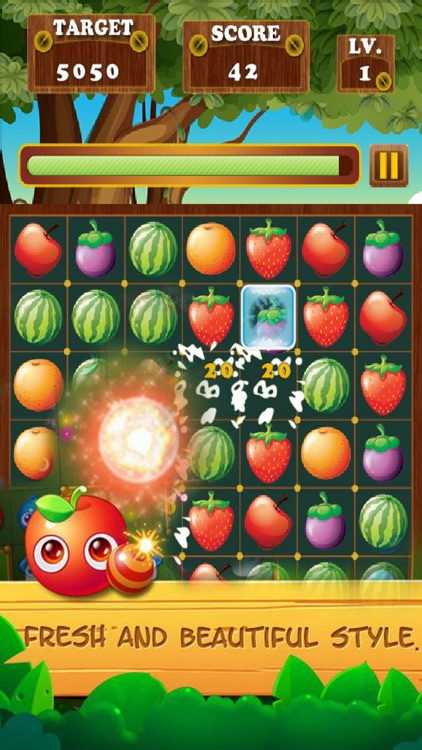 Fruit Star Crush Mania - Match Free
