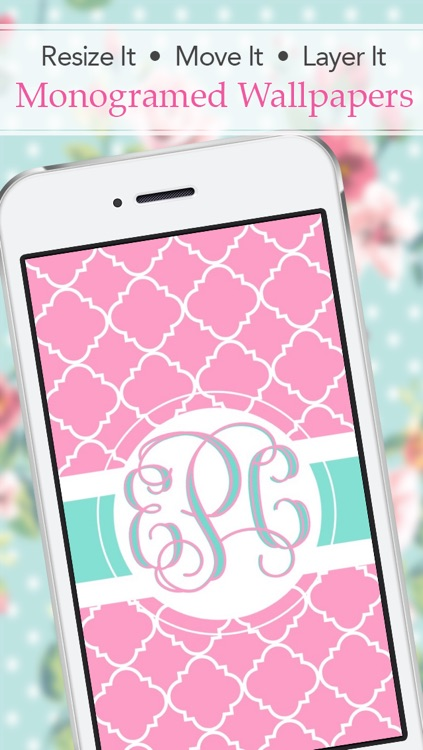 Stencil - Monogram Wallpaper Backgrounds Fashion Skins Themes