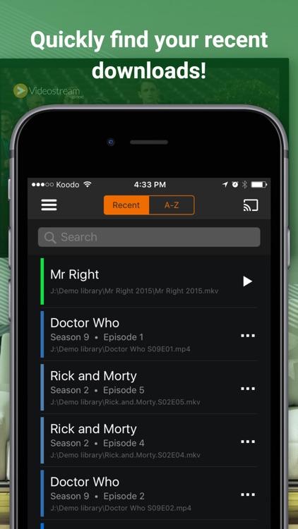 Videostream Mobile for Chromecast screenshot-3