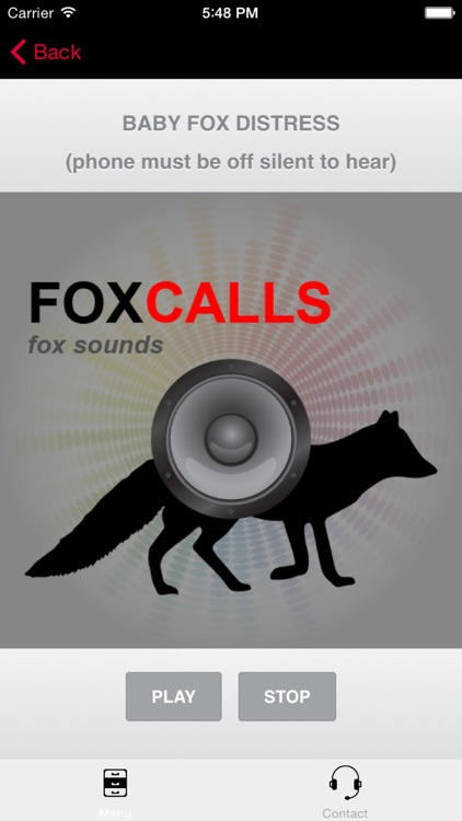 REAL Fox Calls & Fox Sounds for Fox Hunting + (ad free) BLUETOOTH COMPATIBLE screenshot-3