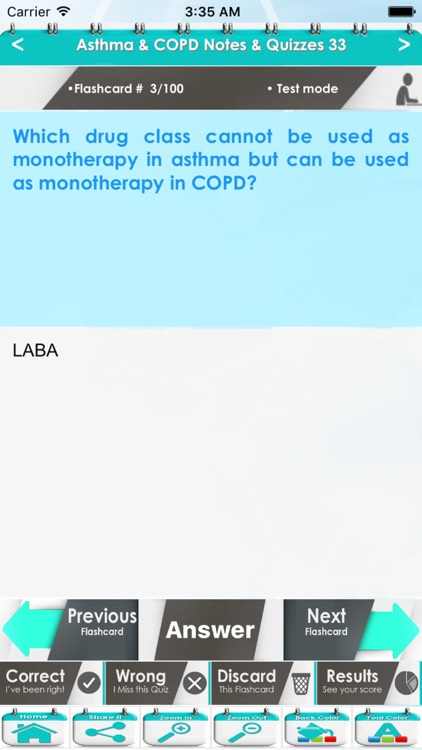 Asthma & COPD Exam Review: 5000 Flashcards, Definitions & Quizzes screenshot-3