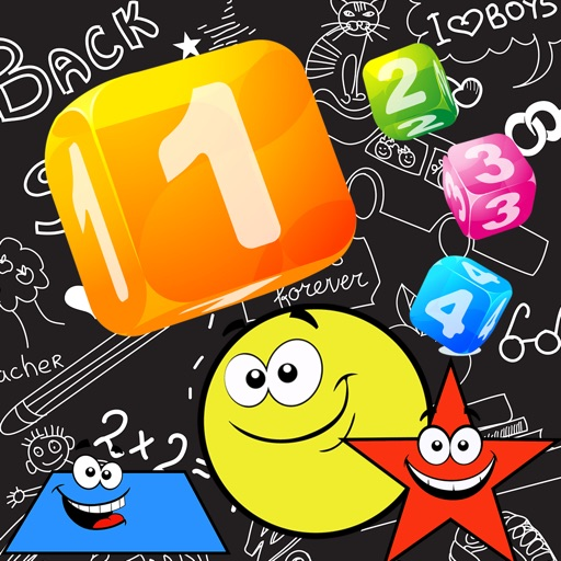123 All About Shapes And Numbers Educational Games For Kids Or Preschool iOS App