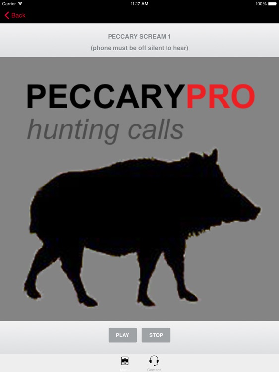 REAL Peccary Calls and Peccary Sounds for Hunting -- (ad free) BLUETOOTH COMPATIBLE screenshot-3