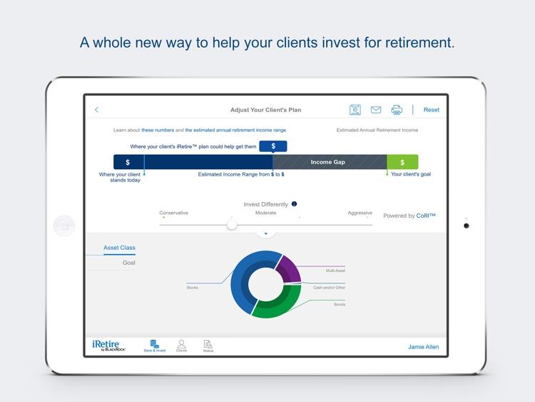 iRetire by BlackRock - for Financial Advisors