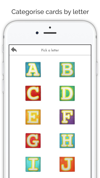Flashcards App - Baby flash cards in english screenshot-4