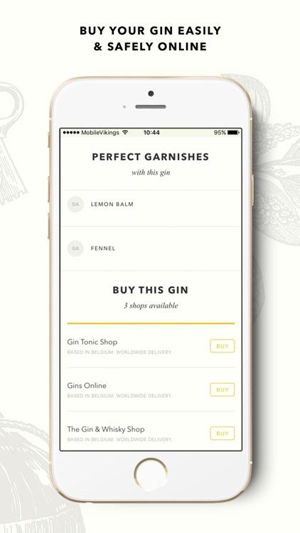 Ginventory – Gin & Tonic Guide screenshot-4