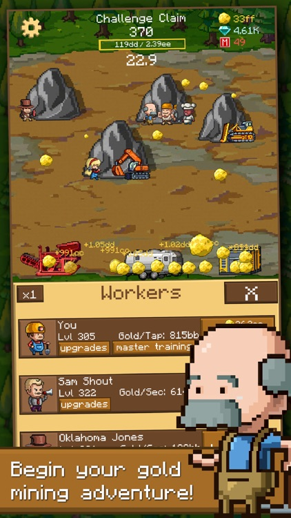 Goldcraft - Idle Games, Clicker Games