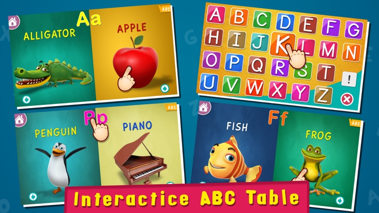 Magical Alphabet - Letters, Phonics, Spellings and ABC Videos for preschoolers and toddlers screenshot-3