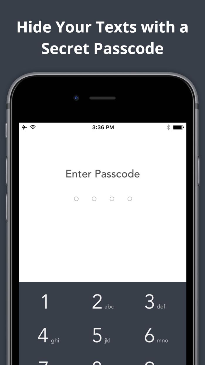 Anonymous Texting & Free Private Burner Number App Screenshot