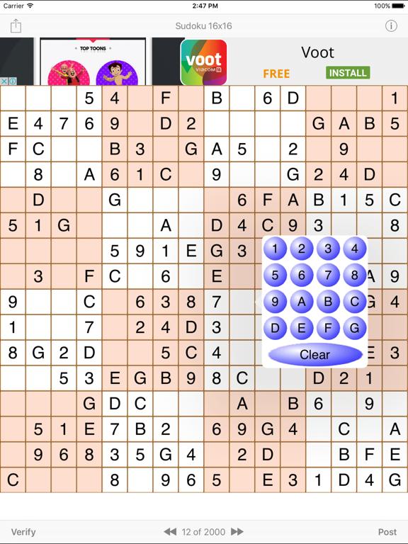 Sudoku 16x16 Game   App Price Drops