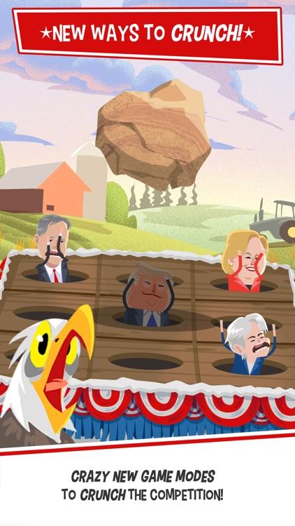 Candidate Crunch: Donald Trump vs Hillary Clinton vs Bernie - Funny Election Game screenshot-0