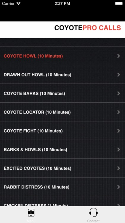 REAL Coyote Hunting Calls - Coyote Calls & Coyote Sounds for Hunting (ad free) BLUETOOTH COMPATIBLE
