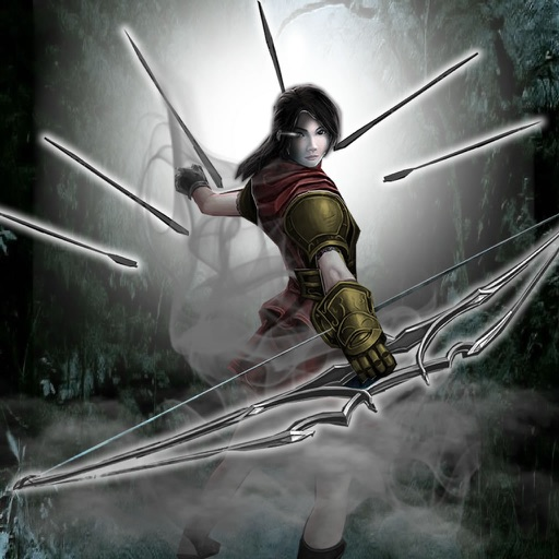 Archer Warrior Girl - Fantasy Archery Nighting