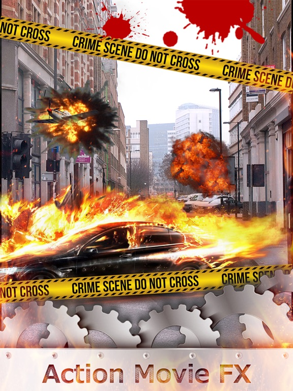 Action Movie FX Pro - Hollywood Style Special Effect Change.r & Extreme Photo Sticker Edit.or-ipad-0