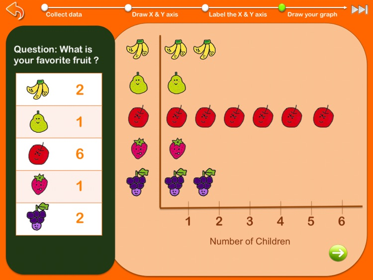 Graphing for kids ( Chart Maker for children ) screenshot-4