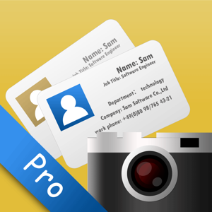 SamCard Pro-card reader&business card scanner&ocr app