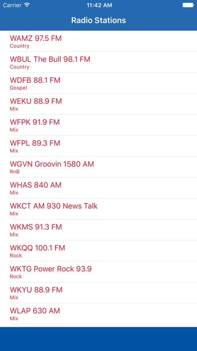 Radio Channel Kentucky FM Online Streaming