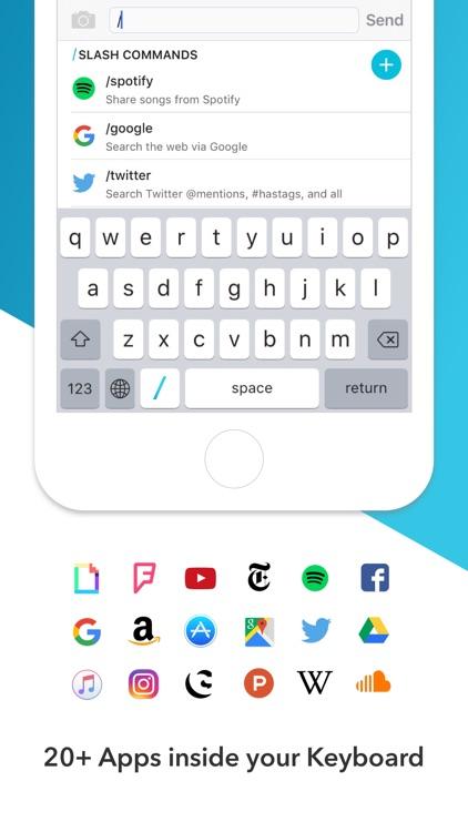 Slash Keyboard screenshot-0