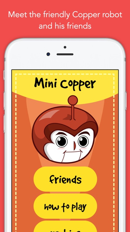 Copper, a widget game. The runner and his friends