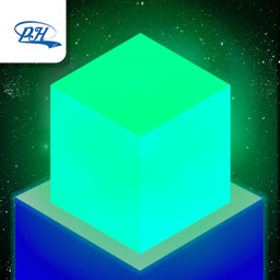 Glow Cube - Jump in the space!