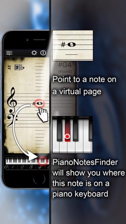 Piano Notes Finder screenshot-0