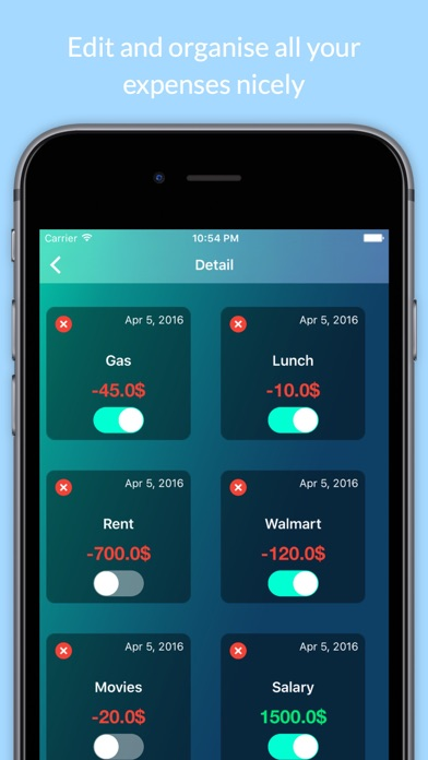 Budget Controller screenshot three