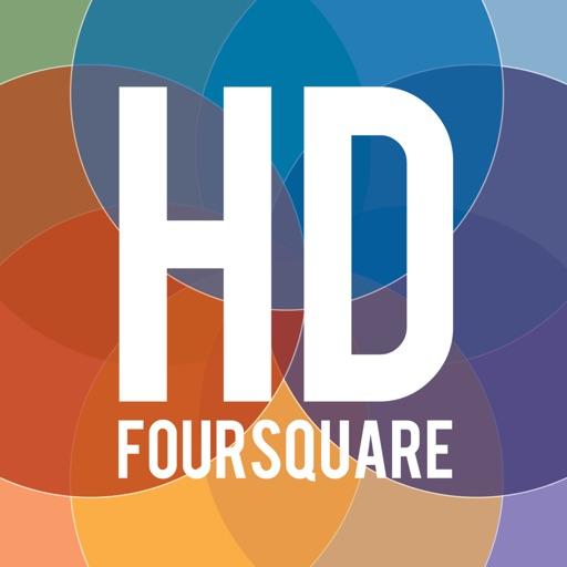 HDFoursquare App