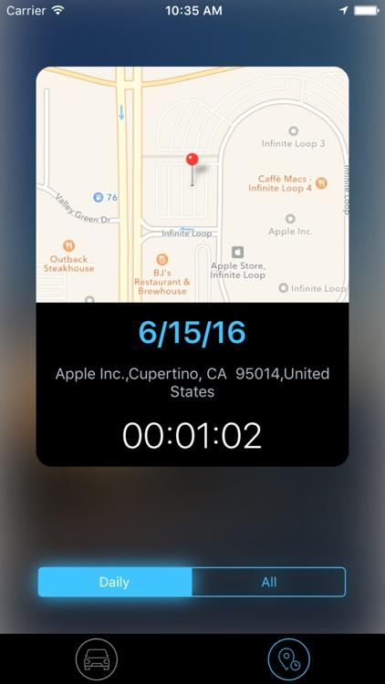 Parking - GPS Parking Location Reminder screenshot-3