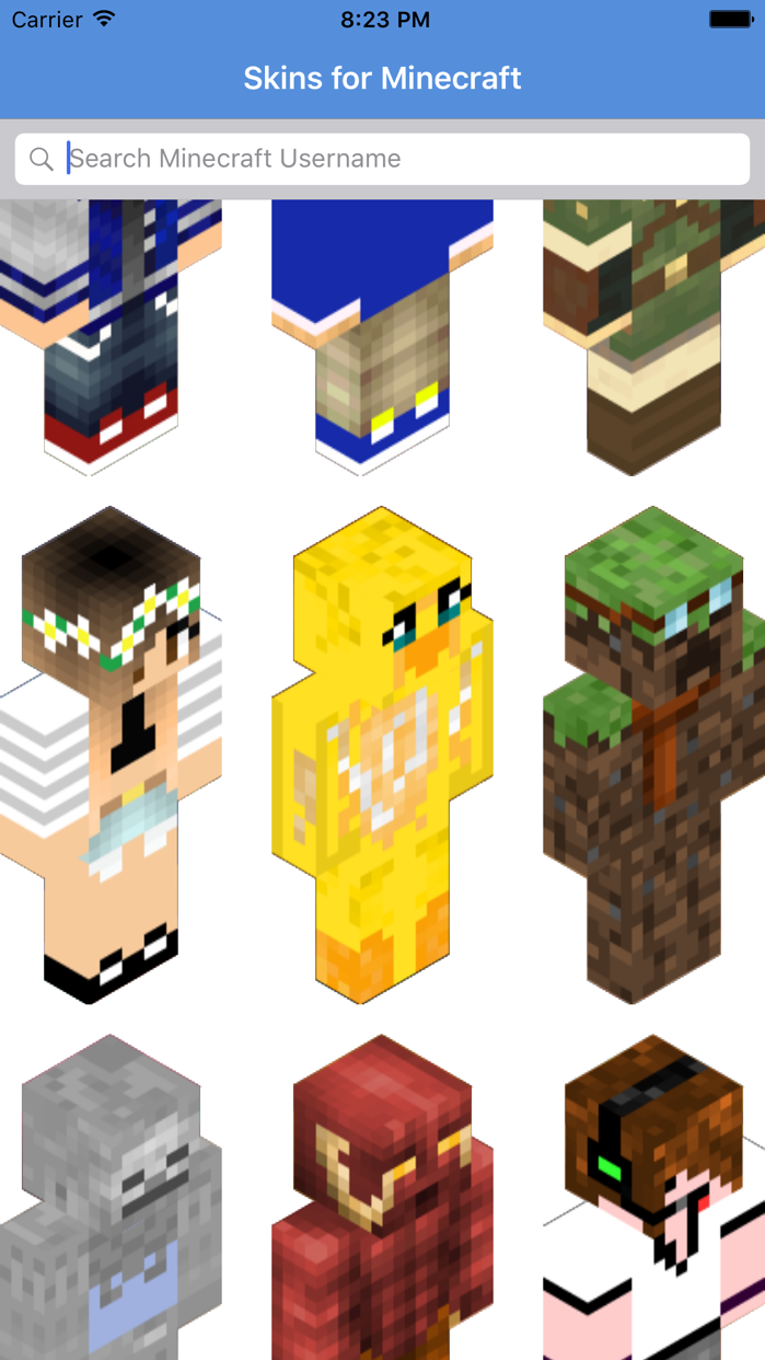 Skins for Minecraft - PE Skins Screenshot