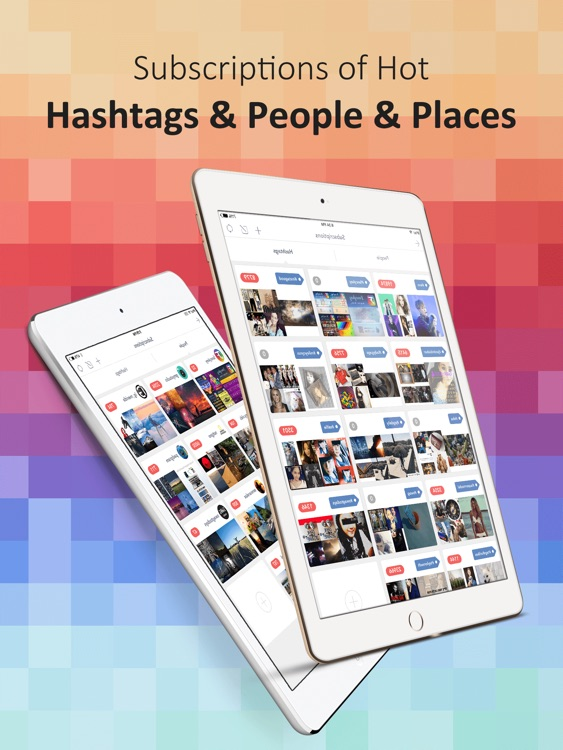 PadPics for Instagram - Free IG Photo & Videos Viewer for iPad screenshot-4