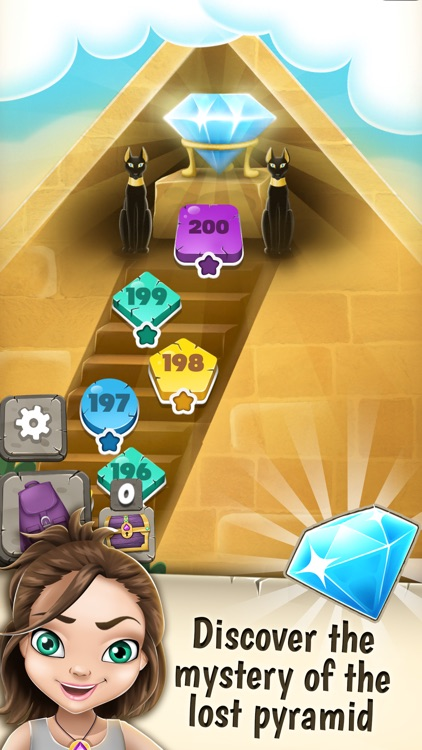 Jewel Mystery Deluxe Match 3: Find the Lost Diamond in the Crazy Color.s Adventure Mania screenshot-3