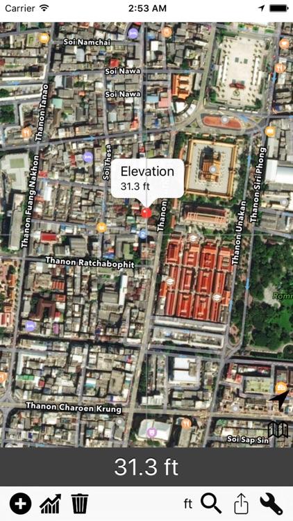 Elevation - Sea Level Map screenshot-4