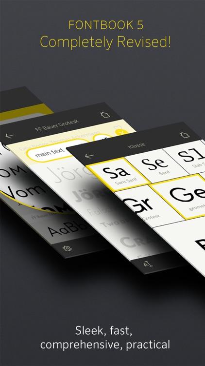 FontBook™ – The Original Typeface Compendium, est. 1989