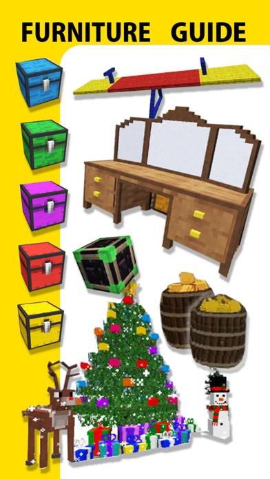 Furniture Mod, Guide, Video - Game Pocket Wiki for Minecraft PE & PC Editionのおすすめ画像2