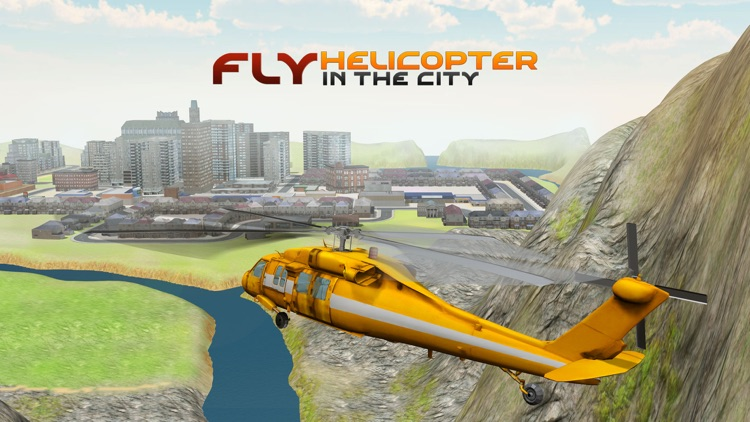 City Helicopter Simulator – 3D Apache Flying Simulation Game screenshot-4