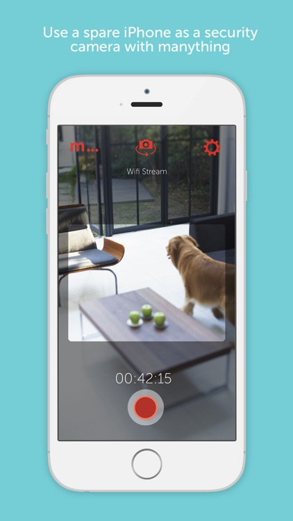 Manything cloud security camera app
